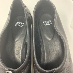 Eileen Fisher Shoes - Eileen Fisher Sydney Pull-Tab Leather Sneaker 10